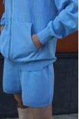 Трикотажный костюм с шортами