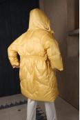 Пуховик N5 в желтом цвете